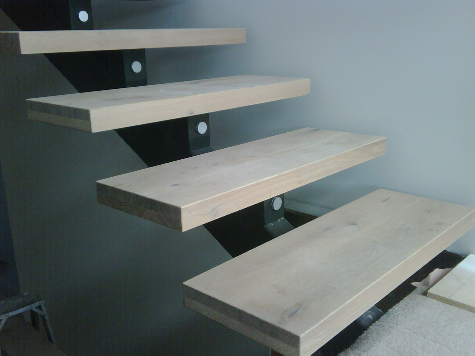 Timber Stairs I All Natural Timber I Custom Built I Mafi