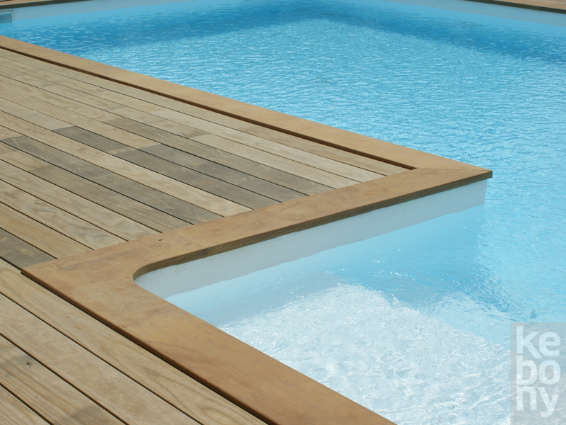 Timber decking kebony 142 for Sustainable decking